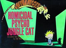 CALVIN & HOBBES HOMICIDAL PSYCHO JUNGLE CAT SC NEW PTG (OCT1