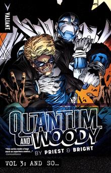 PRIEST & BRIGHTS QUANTUM & WOODY TP VOL 03 AND SO