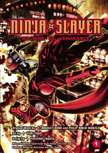 NINJA SLAYER GN VOL 01 MACHINE OF VENGEANCE (MR)