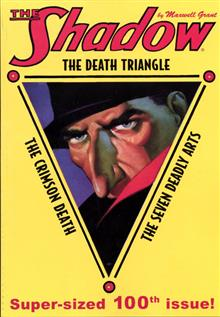 SHADOW DOUBLE NOVEL VOL 100 DEATH TRIANGLE  & CRIMSON DEATH