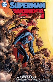 SUPERMAN WONDER WOMAN HC VOL 05 SAVAGE END