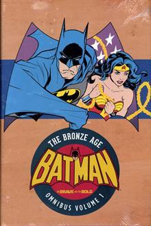 BATMAN BRAVE & THE BOLD BRONZE AGE OMNIBUS HC (RES) VOL 01