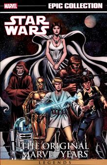 STAR WARS LEGENDS EPIC COLL ORIGINAL MARVEL YEARS TP VOL 01