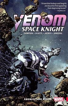 VENOM SPACE KNIGHT TP VOL 02 ENEMIES AND ALLIES