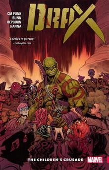 DRAX TP VOL 02 CHILDRENS CRUSADE