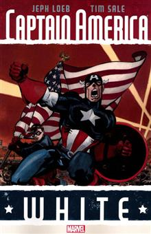 CAPTAIN AMERICA TP WHITE