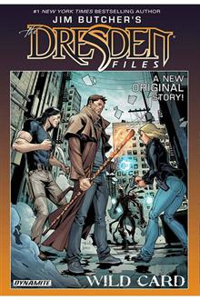 JIM BUTCHER DRESDEN FILES WILD CARD HC SGN LTD ED