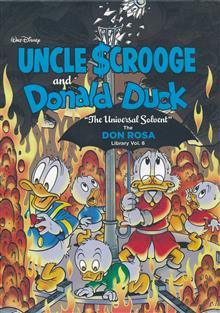 DISNEY ROSA DUCK LIBRARY HC VOL 06 UNIVERSAL SOLVENT