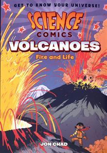 SCIENCE COMICS VOLCANOES SC GN
