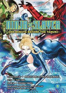 NINJA SLAYER GN VOL 06 3 DIRTY NINJAS (MR)