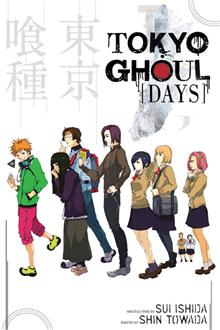 TOKYO GHOUL DAYS SC NOVEL (MR)