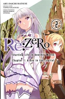 RE ZERO GN VOL 02 STARTING LIFE IN ANOTHER WORLD