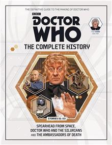 DOCTOR WHO COMP HIST HC VOL 24 3RD DOCTOR STORIES 51-53 (C: