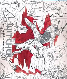 WITCHER ADULT COLORING BOOK TP