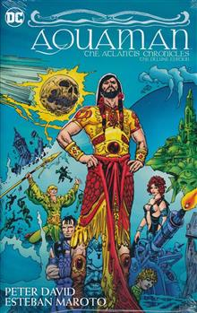 AQUAMAN THE ATLANTIS CHRONICLES DLX ED HC