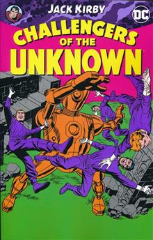 CHALLENGERS OF THE UNKNOWN BY JACK KIRBY TP