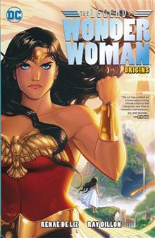LEGEND OF WONDER WOMAN ORIGINS TP