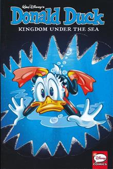 DONALD DUCK KINGDOM UNDER THE SEA TP