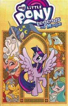 MY LITTLE PONY LEGENDS OF MAGIC TP VOL 01