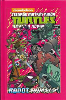 TMNT ADVENTURES ROBOTANIMALS HC