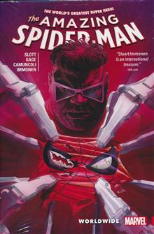 AMAZING SPIDER-MAN WORLDWIDE HC VOL 03