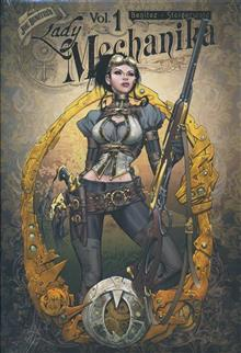 LADY MECHANIKA OVERSIZED HC VOL 01