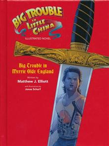 BIG TROUBLE LITTLE CHINA ILLUS NOVEL HC MERRIE OLDE ENGLAND
