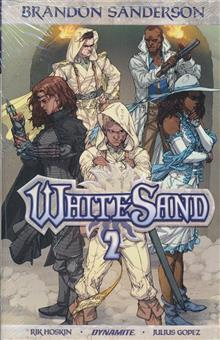 BRANDON SANDERSON WHITE SAND HC VOL 02