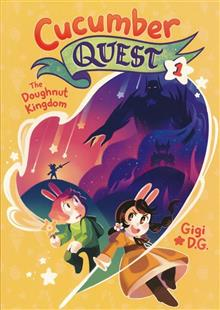 CUCUMBER QUEST GN VOL 01 DOUGHNUT KINGDOM