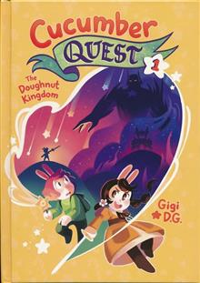 CUCUMBER QUEST HC GN VOL 01 DOUGHNUT KINGDOM