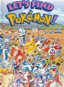 POKEMON LETS FIND POKEMON SPECIAL COMPLETE HC ED