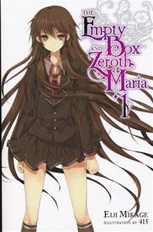 EMPTY BOX & ZEROTH MARIA LIGHT NOVEL VOL 01