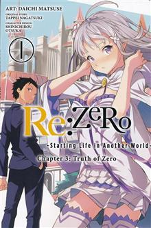 RE ZERO SLIAW CHAPTER 3 TRUTH ZERO GN VOL 01
