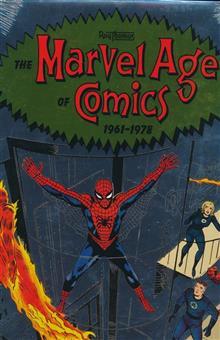 MARVEL AGE OF COMICS 1961-1978 HC