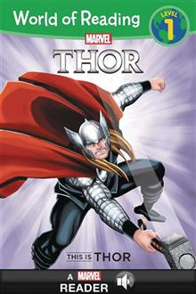 WORLD OF READING THIS IS THOR SC