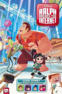 WRECK IT RALPH 2 RALPH BREAKS THE INTERNET TP CLICK START (C