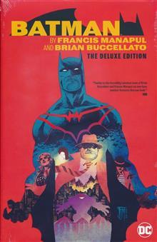 BATMAN BY MANAPUL AND BUCCELLATO DLX ED HC