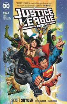 JUSTICE LEAGUE TP VOL 01 THE TOTALITY TP