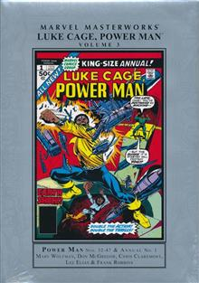 MMW LUKE CAGE POWER MAN HC VOL 03 (DM version should be available next week)