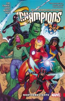CHAMPIONS TP VOL 04 NORTHERN LIGHTS