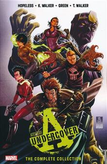 AVENGERS UNDERCOVER TP COMPLETE COLLECTION