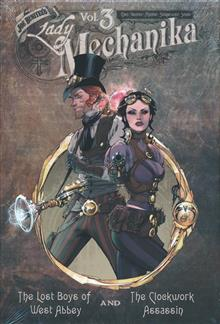 LADY MECHANIKA OVERSIZED HC VOL 03
