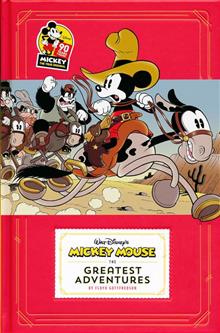 DISNEY MICKEY MOUSE HC GREATEST ADVENTURES (C: 0-1-2)