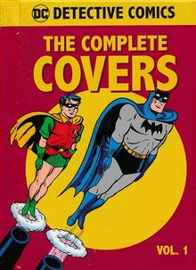 DC COMICS DETECTIVE COMICS COMP COVERS MINI HC VOL 01 (Book Size: 3.5x3 in.)