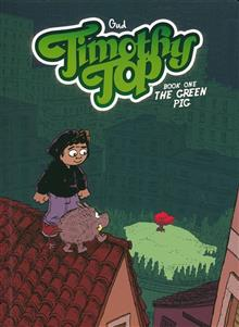 TIMOTHY TOP GN BOOK 01 GREEN PIG