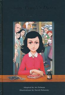 ANNE FRANKS DIARY GRAPHIC ADAPTATION HC