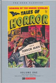 PRE CODE CLASSICS TALES OF HORROR HC VOL 01 (C: 0-1-1)