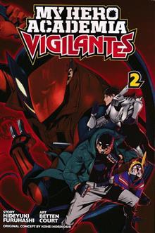 MY HERO ACADEMIA VIGILANTES GN VOL 02