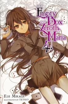 EMPTY BOX & ZEROTH MARIA LIGHT NOVEL SC VOL 04 (C: 0-1-2)