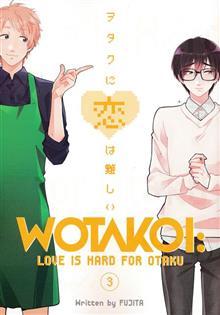 WOTAKOI LOVE IS HARD FOR OTAKU GN VOL 03 (C: 1-1-0)